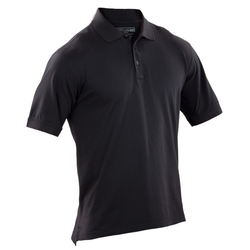 Tactical Jersey Polo - Black (019)