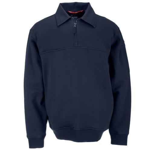 Job Shirt w/ Canvas Collar - Fire Navy (720)