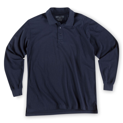 Tactical Jersey Polo - Long Sleeve - Dark Navy (724)