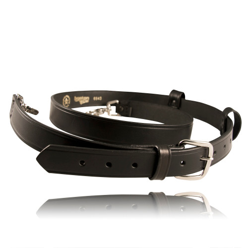 Fireman's Radio Strap - Plain Leather