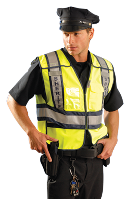 Premium Solid Public Safety Vest - Sheriff