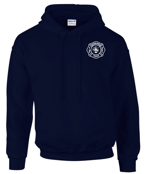 Custom Gildan Hooded Sweatshirt - Navy