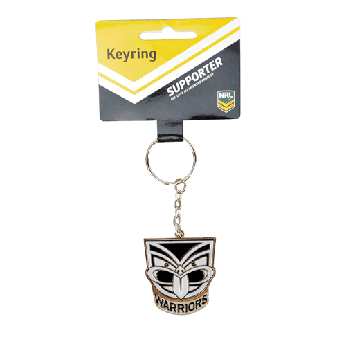Warriors Enamel Logo Keyring