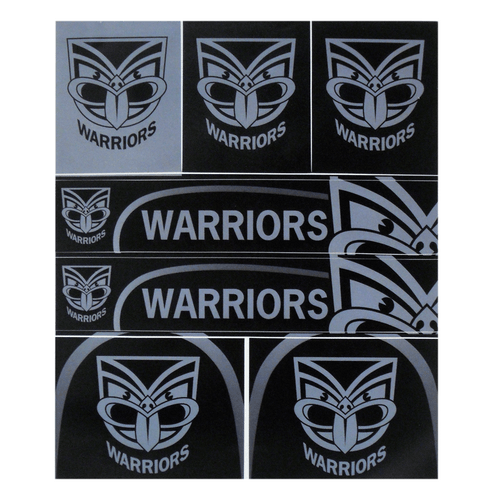 Warriors Club Sticker Sheet