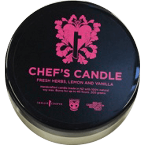 Warriors BCRT Chefs Candle