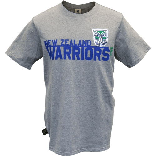 Warriors Heritage Tee - Grey Marle