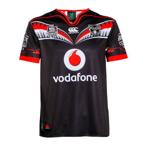2016 Vodafone Warriors CCC Home Jersey - Womens