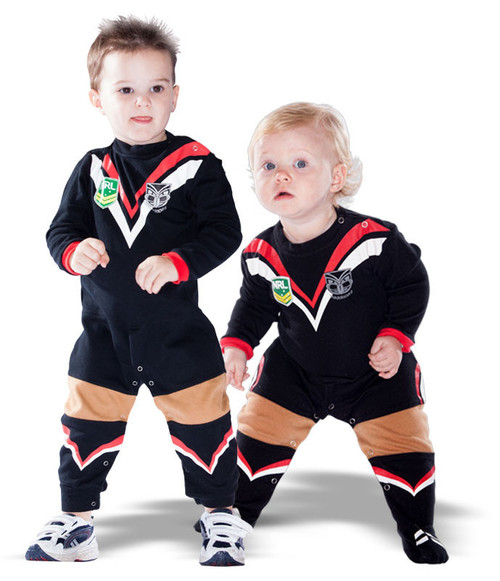 2015 Warriors Infants Footysuit