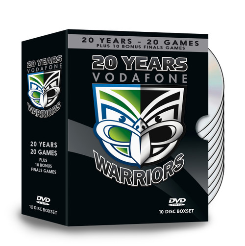 20 Years Vodafone Warriors DVD Box Set