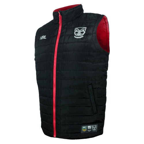 2017 Warriors NRL Puffer Vest