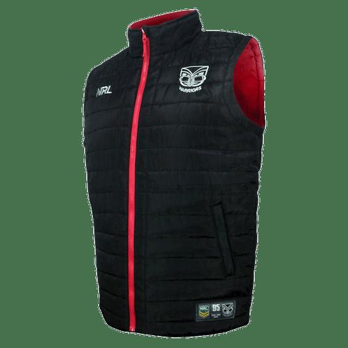2017 Warriors NRL Puffer Vest