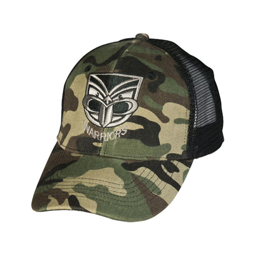 2017 Warriors Classic Camo Trucker Cap
