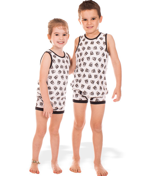 2017 Warriors Infant Singlet and Trunks Set