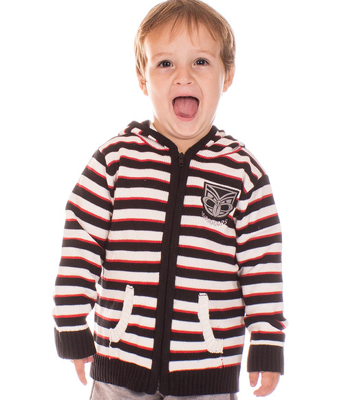 2017 Warriors Infant Hooded Knitted Cardigan