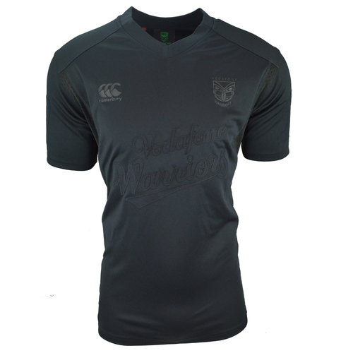 2017 Vodafone Warriors CCC Blackout Jersey