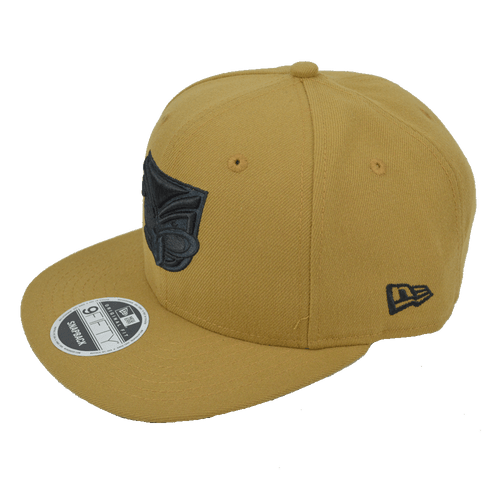 2017 Warriors New Era 950 Cap Wheat