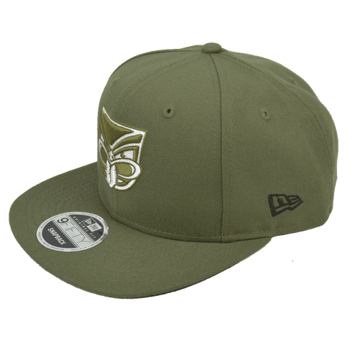 2017 Warriors New Era 950 Cap Olive