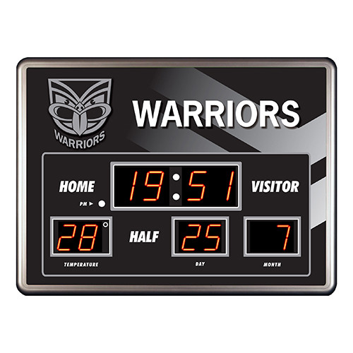 Warriors Scoreboard Clock