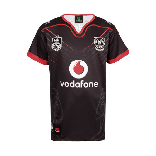 2018 Vodafone Warriors CCC Home Jersey - Kids
