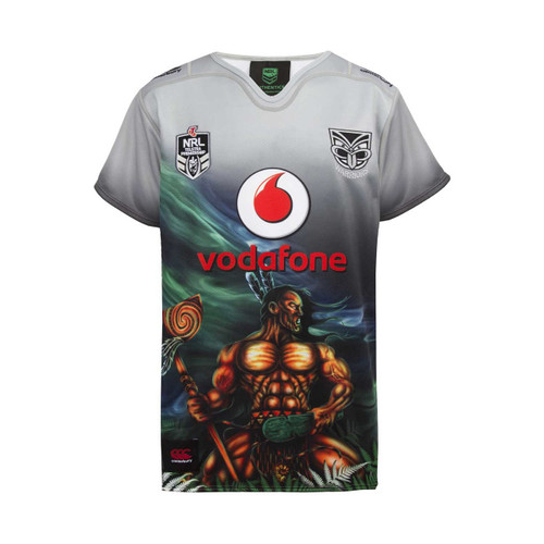 2018 Vodafone Warriors CCC Indigenous Jersey - Kids