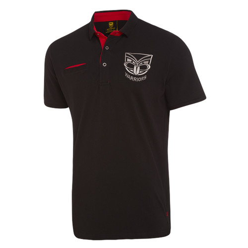 2018 Warriors Classic Knitted Cotton Polo