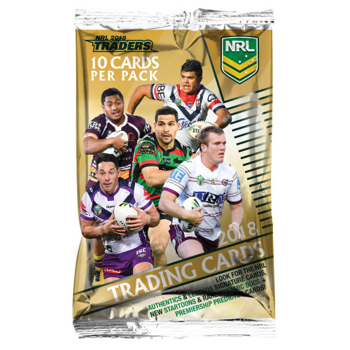 2018 NRL Traders Card Pack