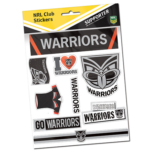 2018 Warriors Sticker Sheet