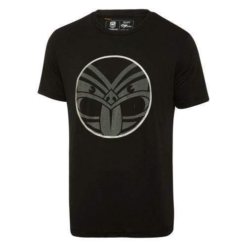 2018 Warriors Classic Reflective Logo Tee - Adults