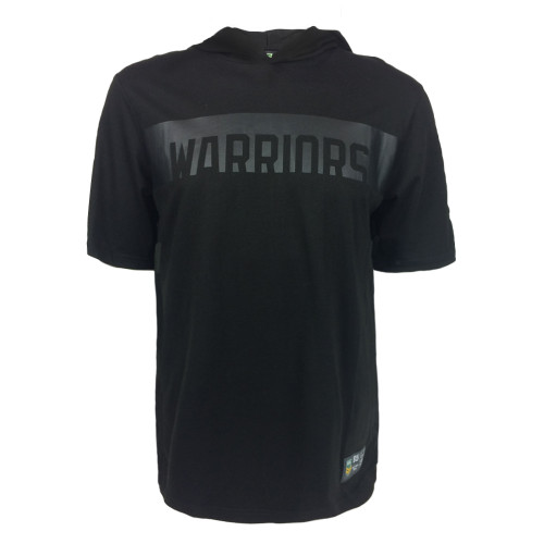 2018 Warriors NRL Mesh Short Sleeve Cotton Hooded Tee
