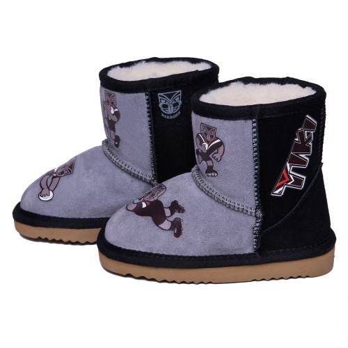 Warriors Team Snug Boots - Kids
