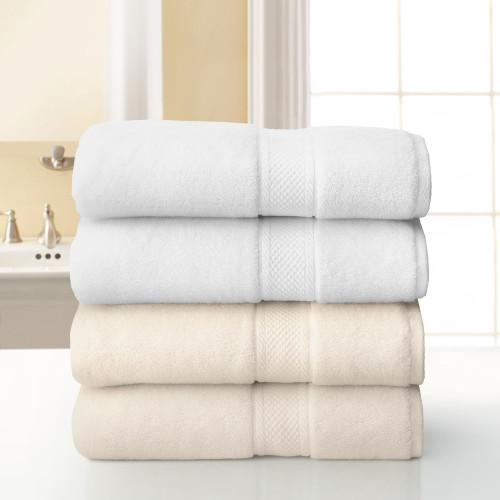 Grand Patrician Bath Towel - White