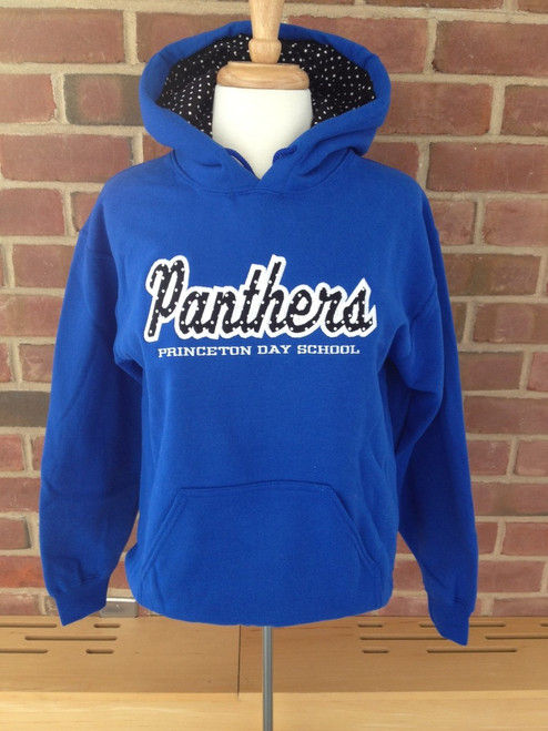 PANTHER EMBROIDERED HOODY