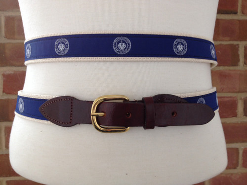 LEATHER TAB PDS SEAL BELT