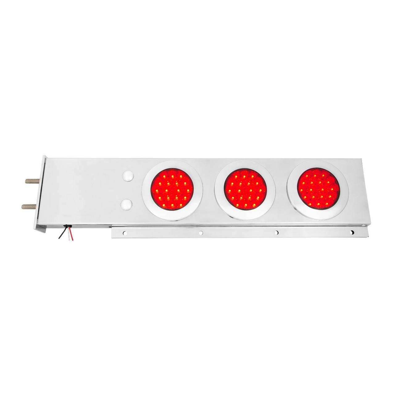 two piece spring loaded rear light bar w 4 lights elite truck rh elitetruckaccessories com Kenworth T800 Heater Fan Wiring Diagram Kenworth T800 Heater Fan Wiring Diagram
