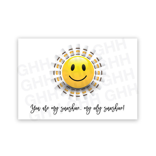 Oily Sunshine Postcard Pack