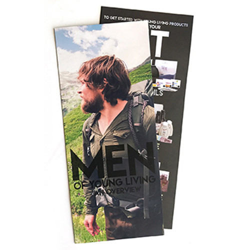 Men of Young Living Brochure Pack