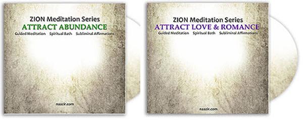 Abundance and Romance Meditation Set - MP3 Downloads