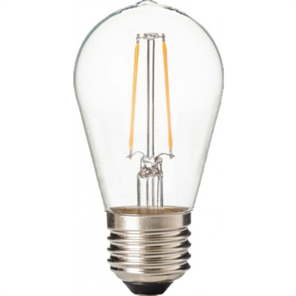 ZLight LED Filament ST14 Bulb - Clear - Soft White 27K