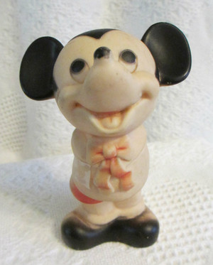 Vintage Rubber Mickey Mouse