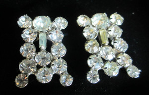 Rhinestone Lapel/Shoe Clips