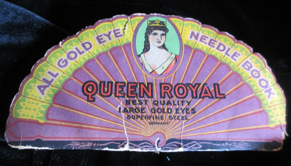 "German "" Queen Royal"" Package of Pins"
