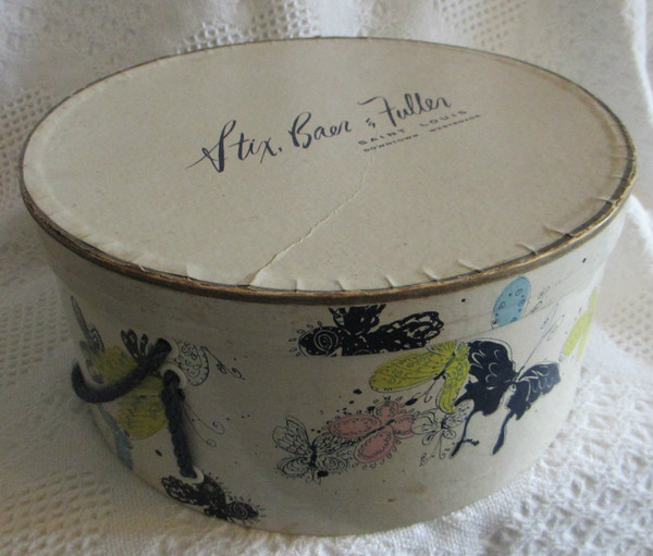 Stix Baer and Fuller Hat Box