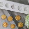 Decoartive Button  4 cavity Silicone Mold