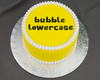 Bubble Lowercase Flexabet Letters by Marvelous Molds