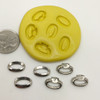 Wedding Ring His/Hers Mold Set silicone
