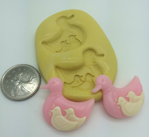 Duck and Ducklings Silicone Mold