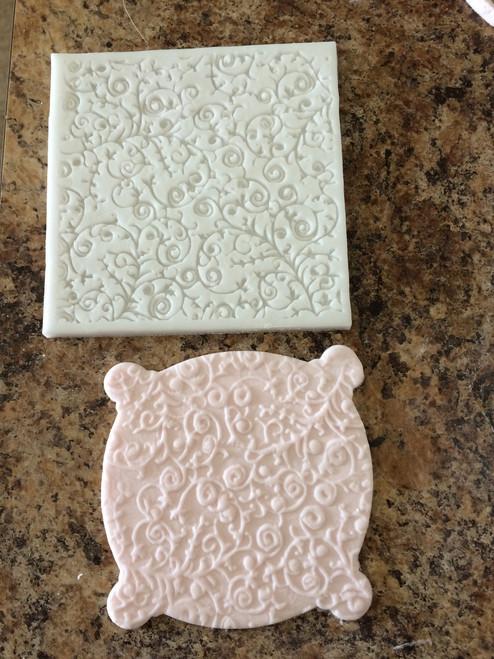 Impression Lace Silicone Mold Mat #1