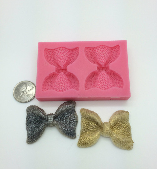 Large Bow  Silicone Mold Set