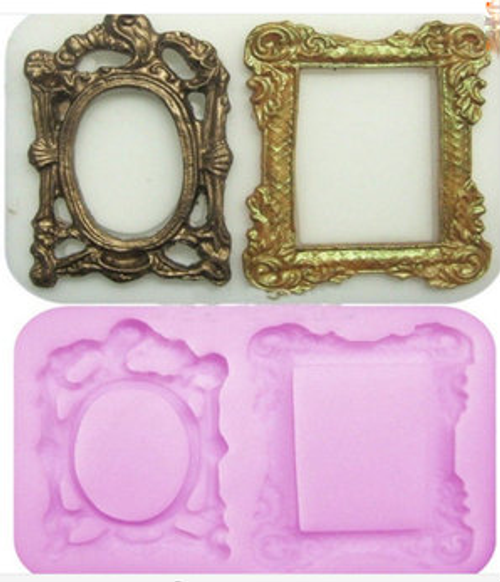 Fancy Frame Mold -PM304