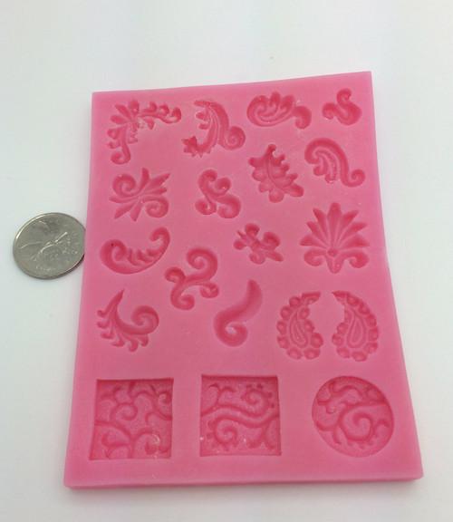 Fancy Mini Scroll  Set - PM183